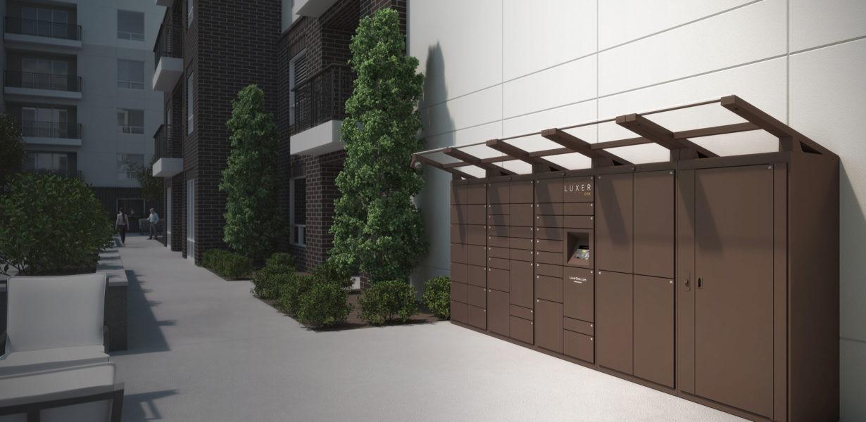 Smart Locker Outdoor
