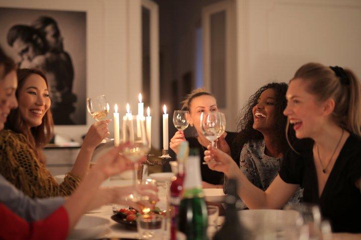 festa entre amigas
