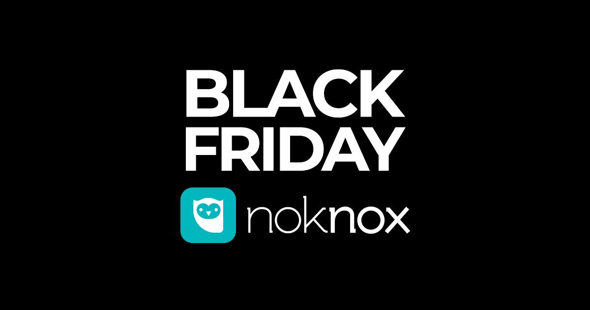 Conheça nossas promoções de Black Friday Noknox