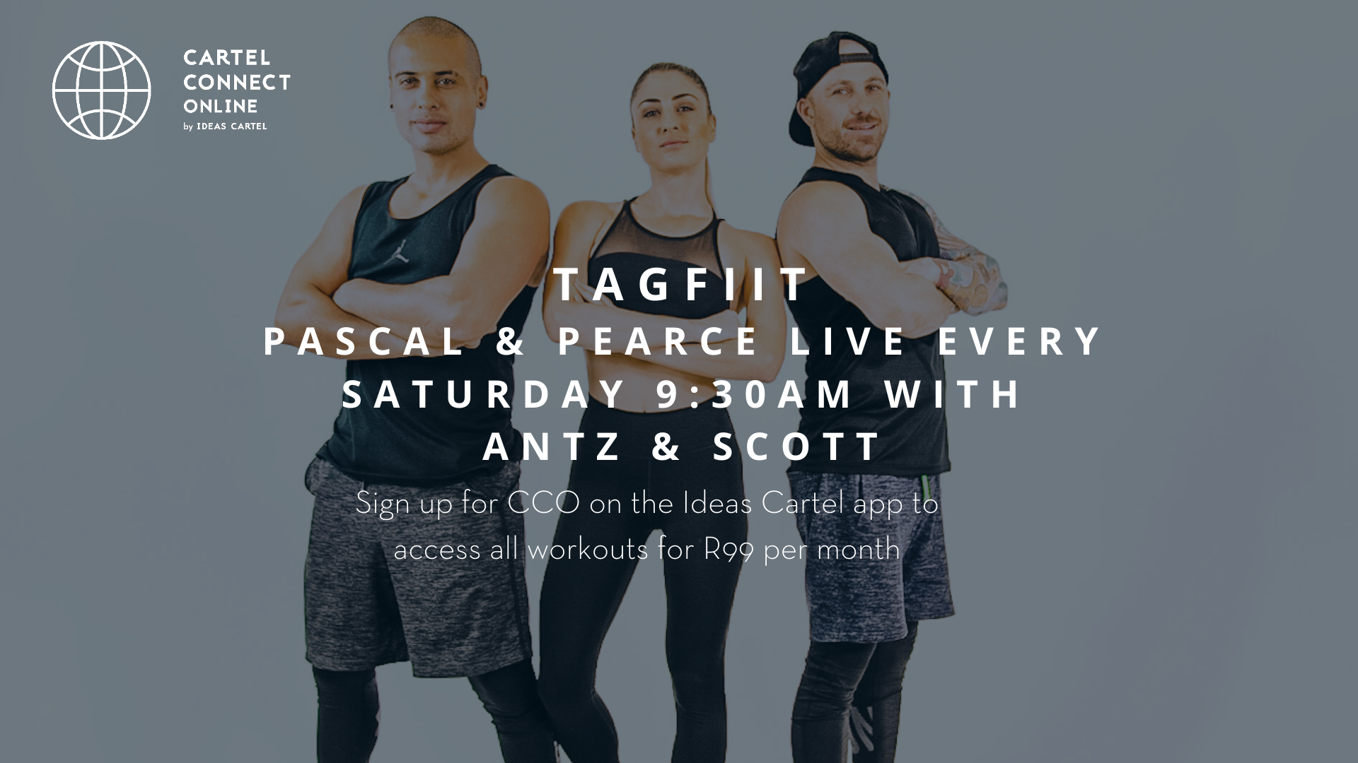 TagFIIT with Pascal&Pearce Music Guided Workout by Scott & Antz