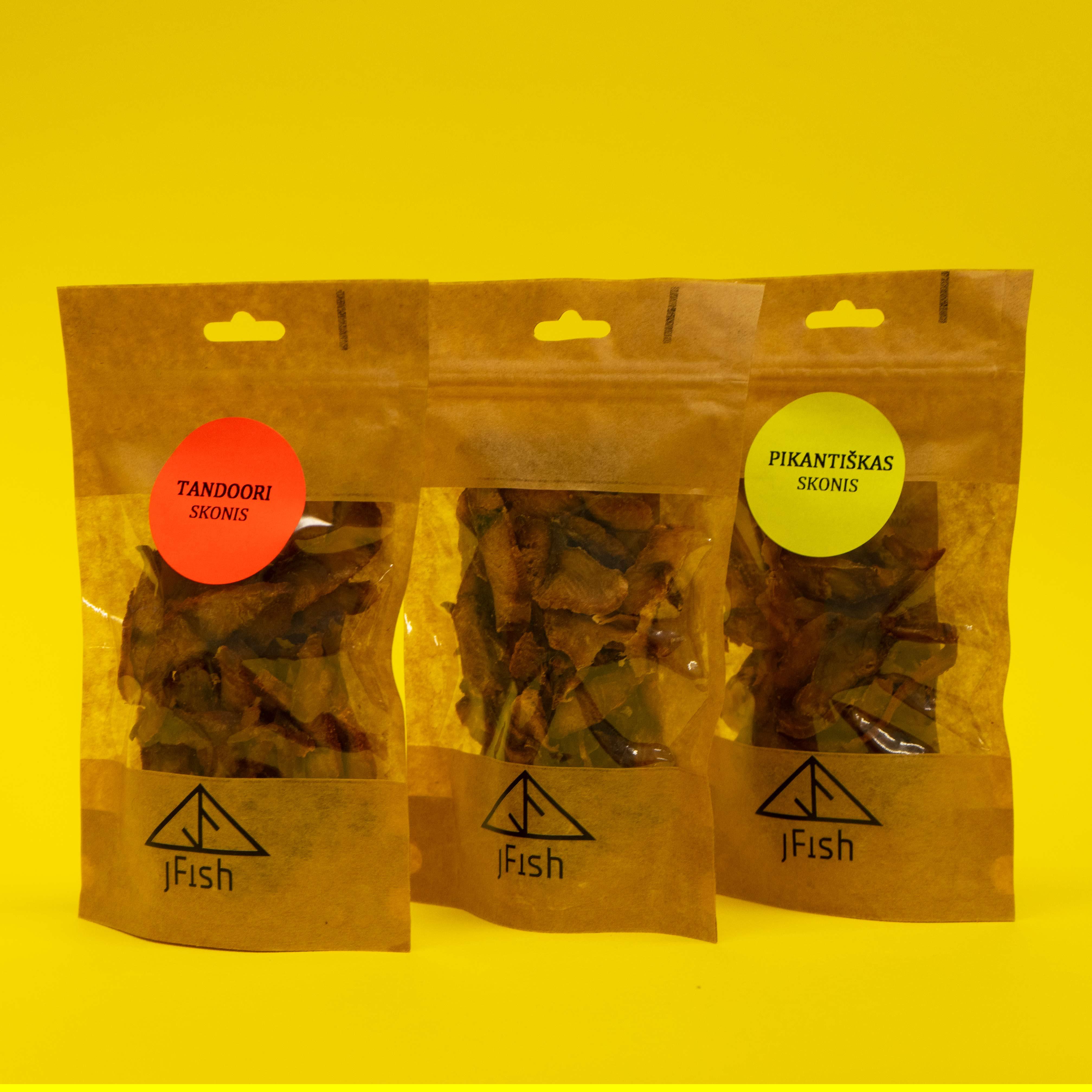 Šaltai rūkyti - vytinti šamo filė gabaliukai, 3.30 Eur/40 g/vnt