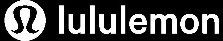 Lululemon white logo