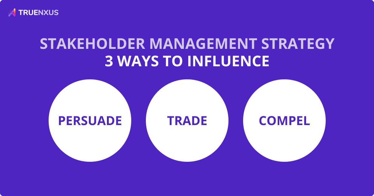 Stakeholder Management Strategy: 3 Ways to Influence Stakeholders