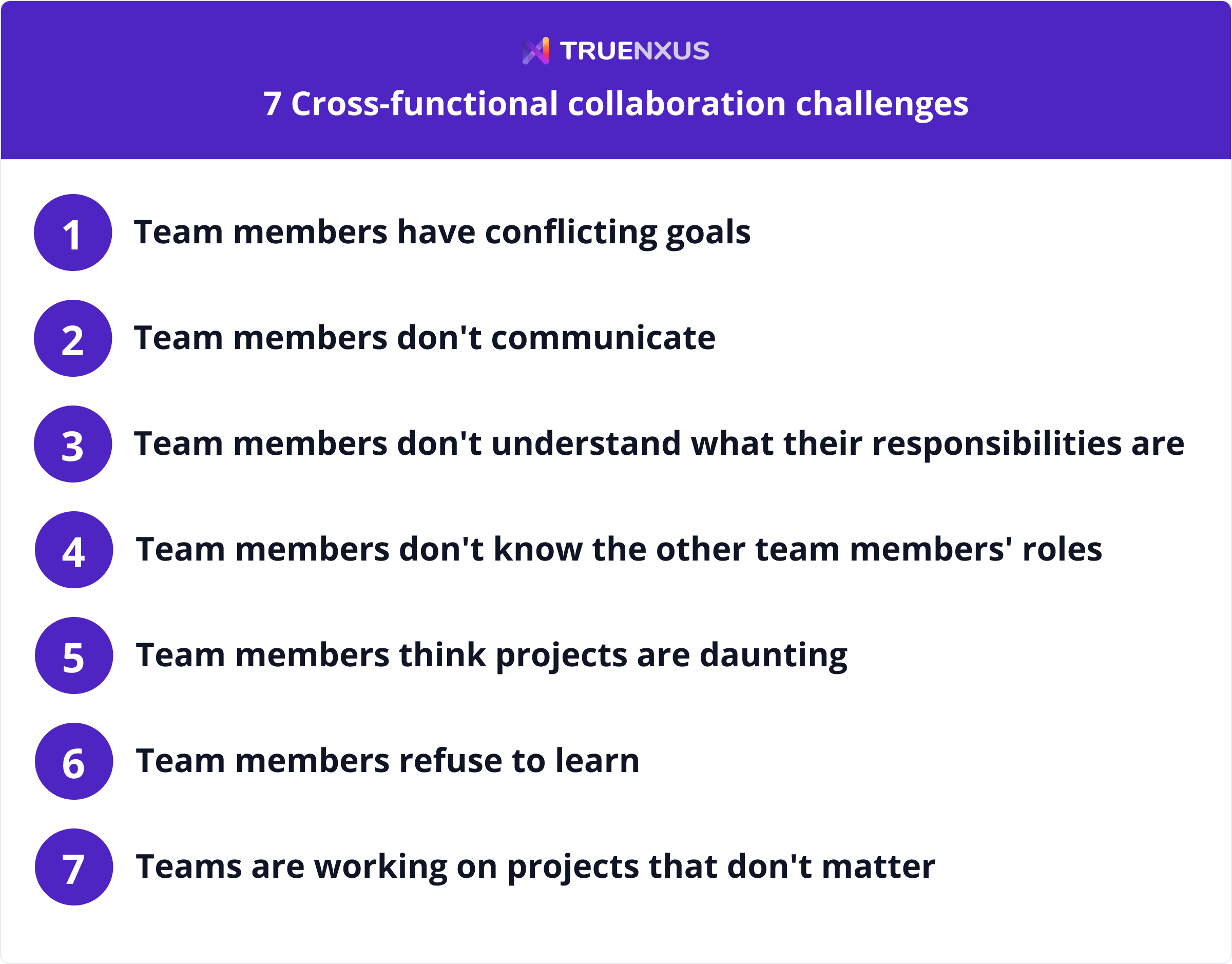 Cross-functional collaboration challenges