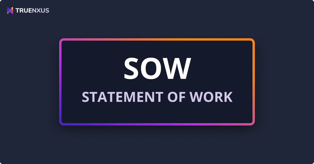 Statement of Work Definition, Template, & Examples