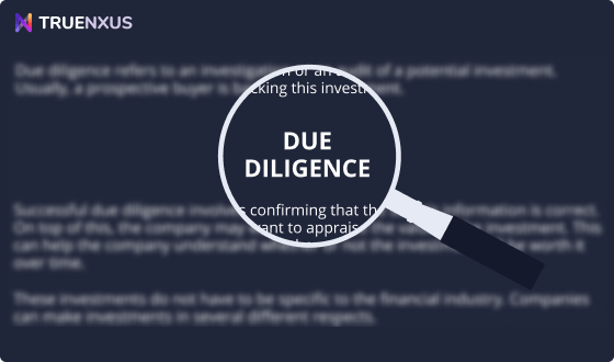 What is Due Diligence? Due Diligence Meaning, Types & Examples