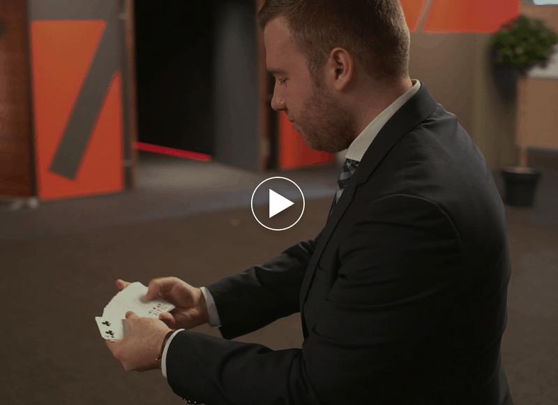 Vidéo de présentation des shows de Benjamin le Magicien