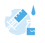 webinar on careers in medicine - blue syringe logo