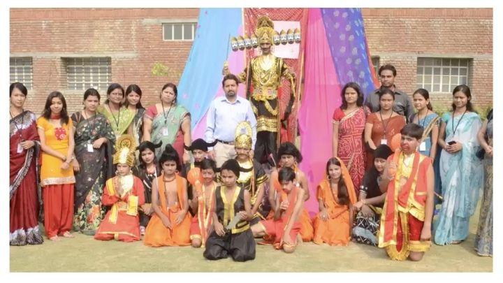 ramayan play at nimt school avantika ii ghaziabad