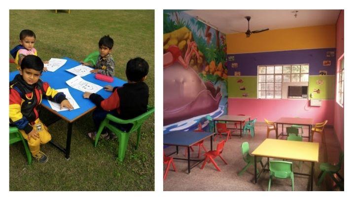 angelitos play school at nimt school ghaziabad