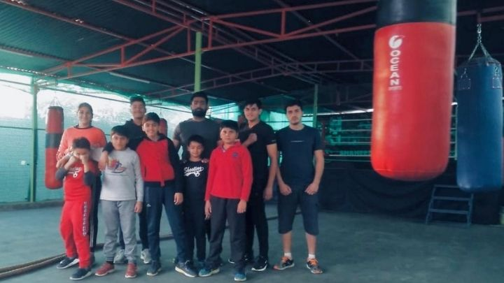 boxing at nimt school ghaziabad