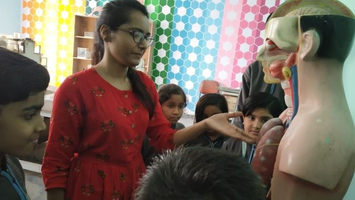 biology lab model at nimt school - ghaziabad