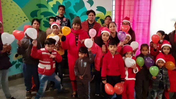 christmas day celebration at nimt school ghaziabad