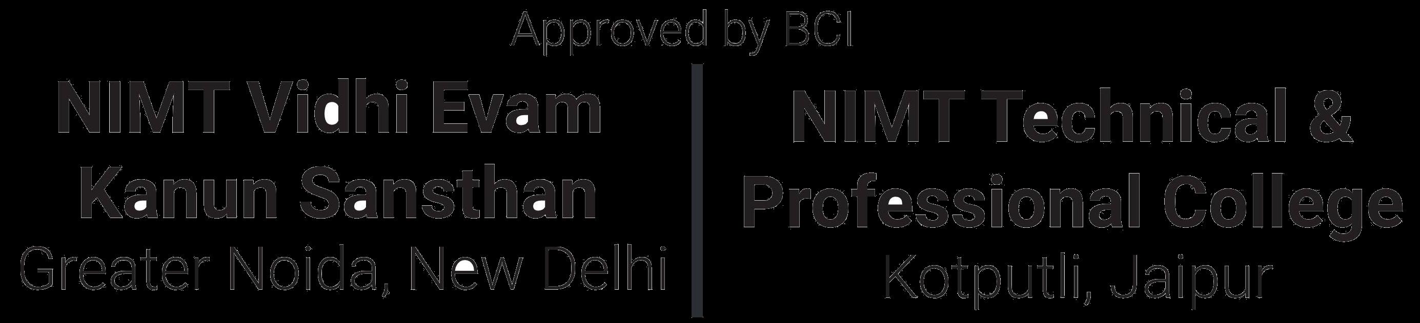 NIMT CLAT 2021 Logo