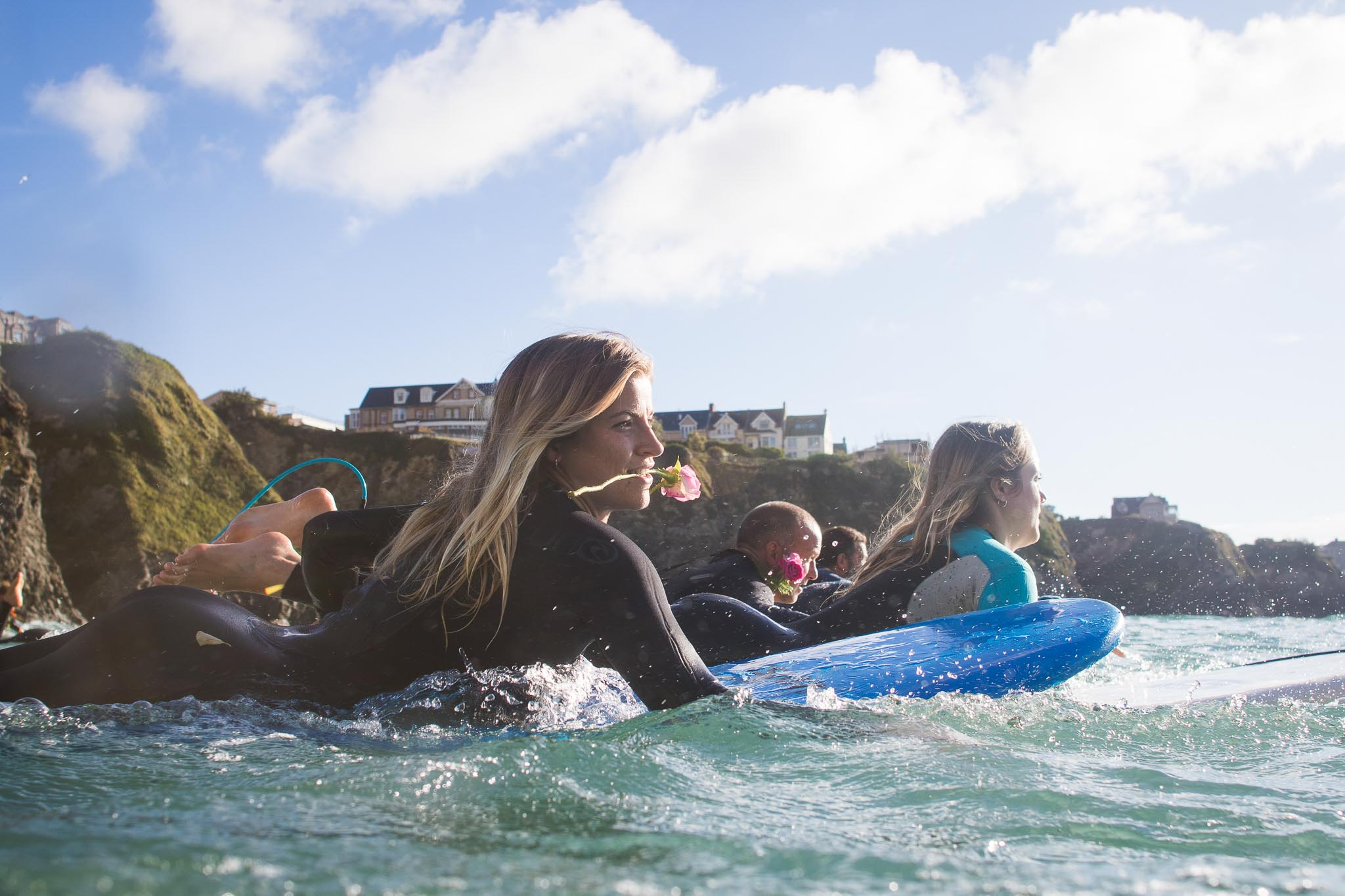 Jack O'Neill Paddle Out