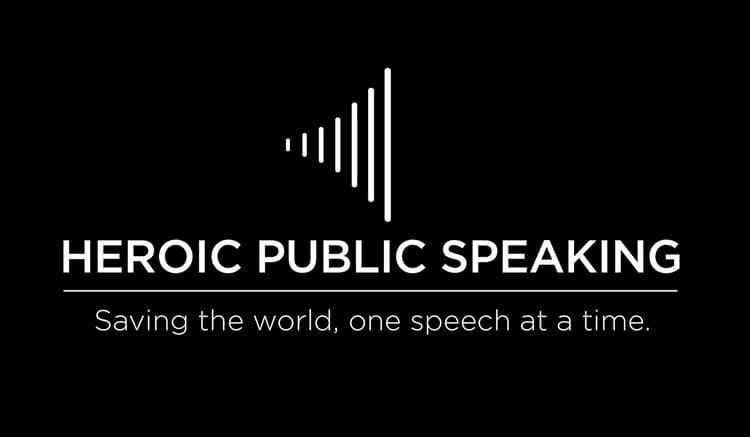 Heroic Public Speaking logo