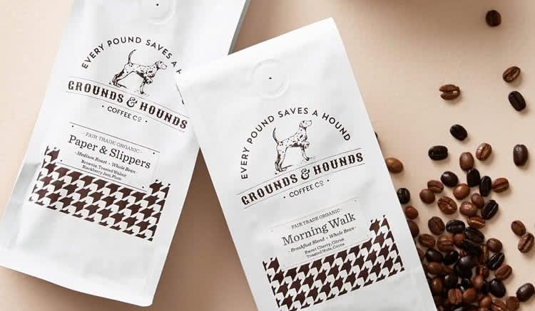 Grounds & hounds logo