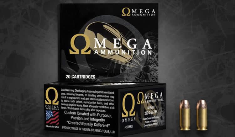 Omega ammunition logo