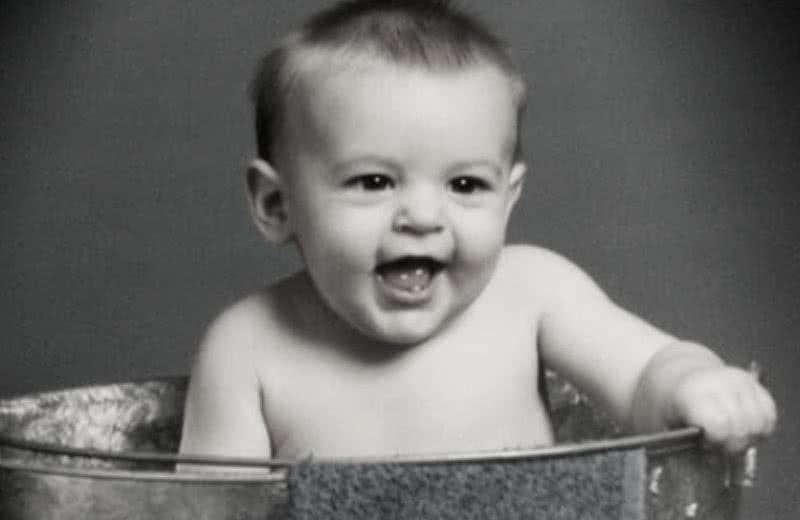 A young Alex Steeno