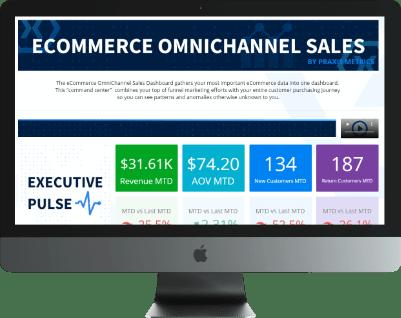 Ecommerce Omnichannel Sales Dashboard