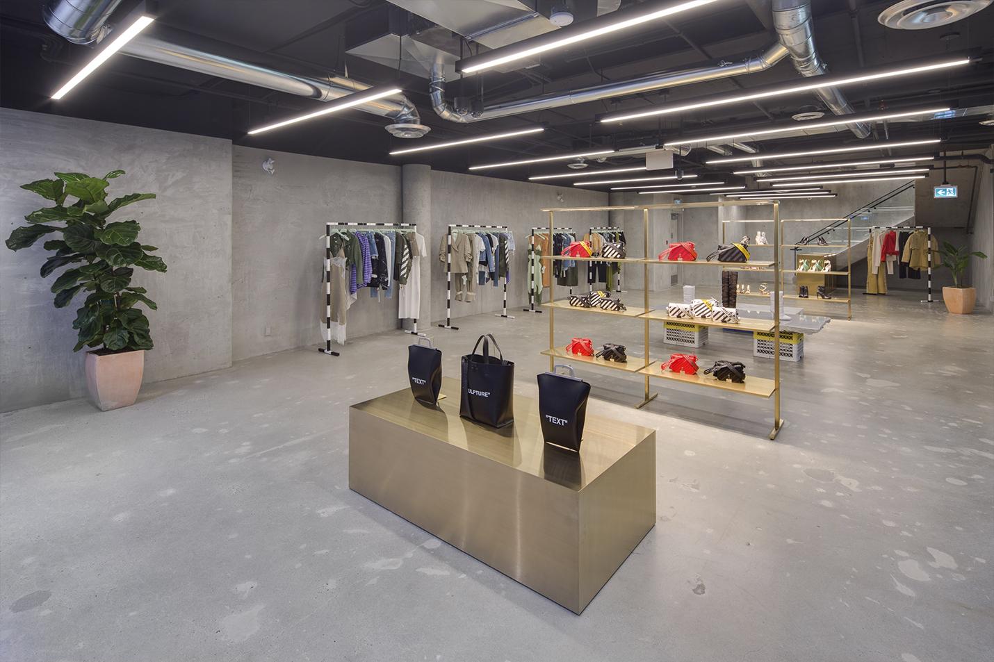 Offwhite Store Interior