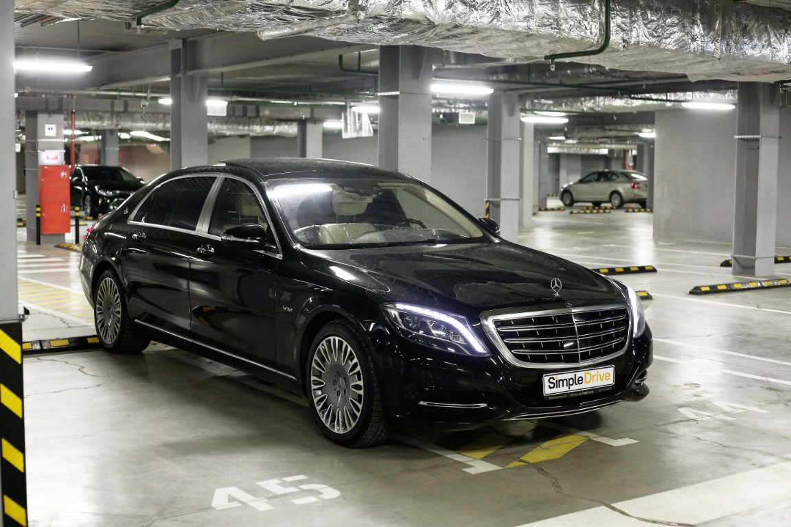 Mercedes-Benz S600 Maybach 2015