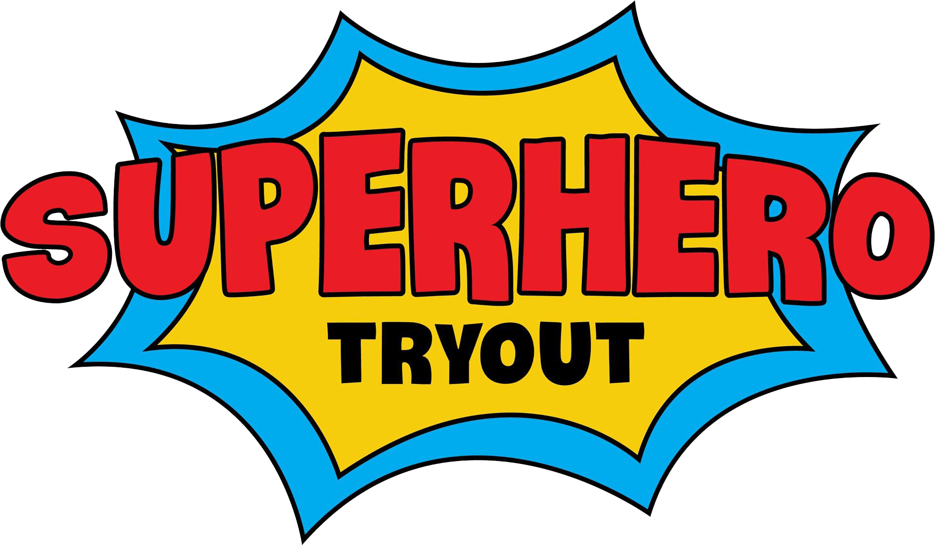 Superhero Tryout | Logo