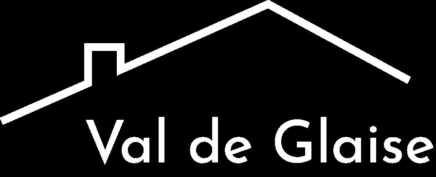 Chalet du val de glaise logo blanc