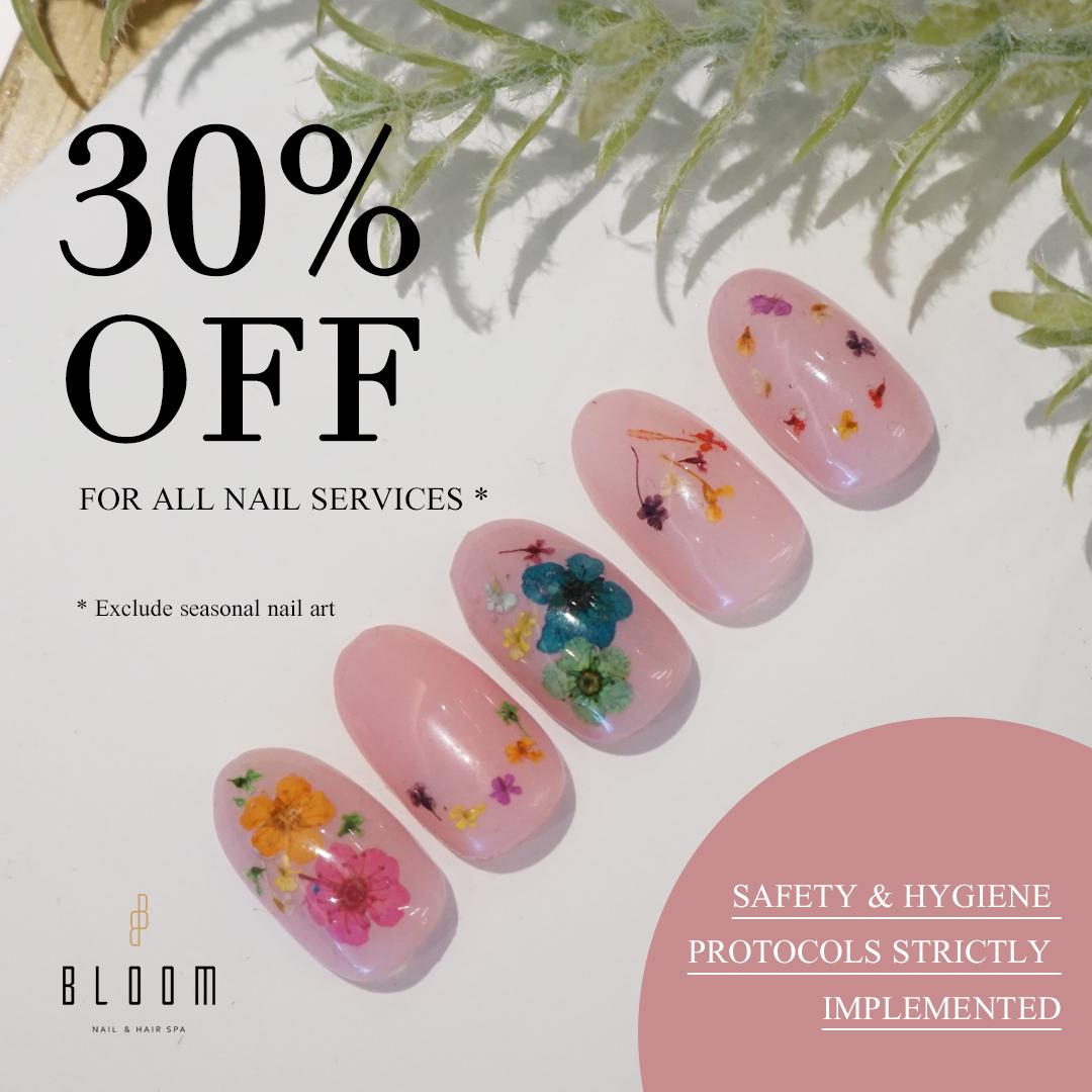 promo everlash bloom nail spa