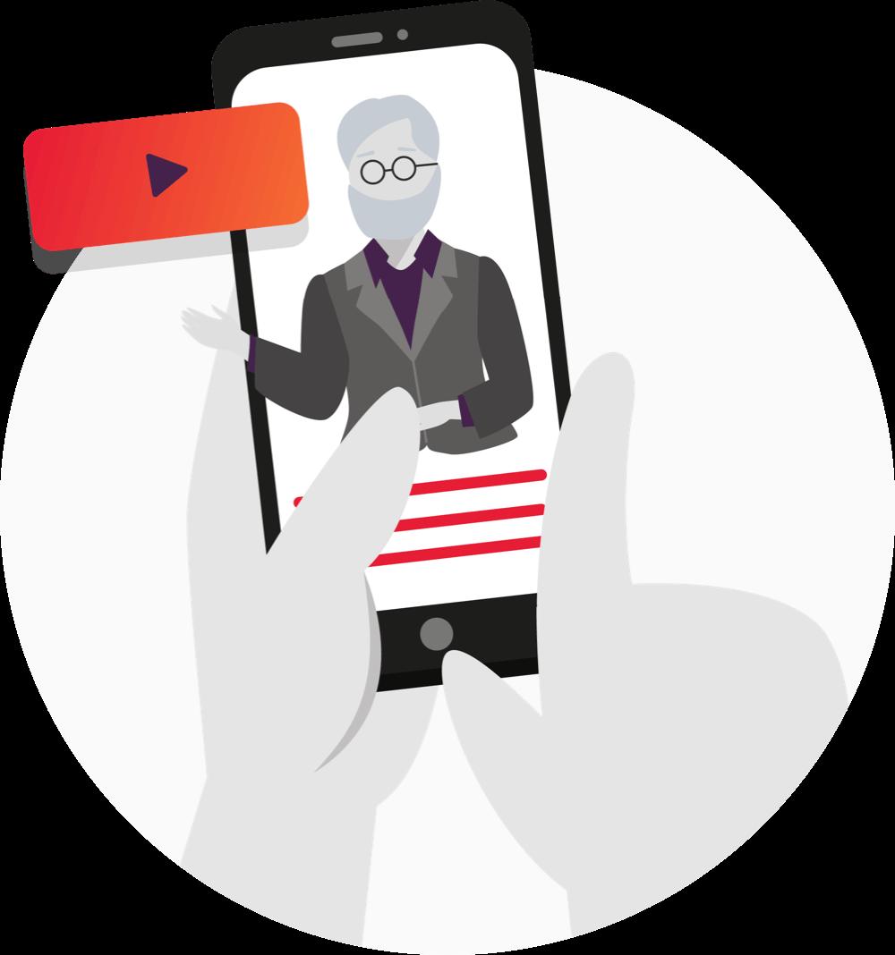 Online video guidance