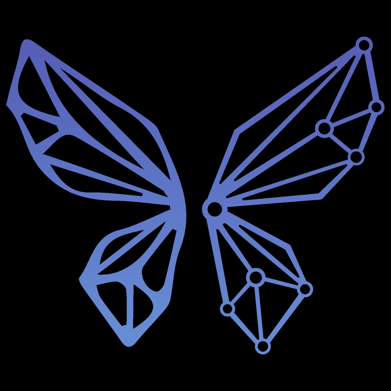 Maya butterfly logo