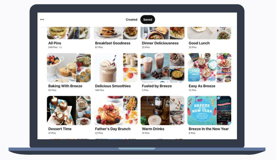 Almond Breeze - Pinterest Board Categories