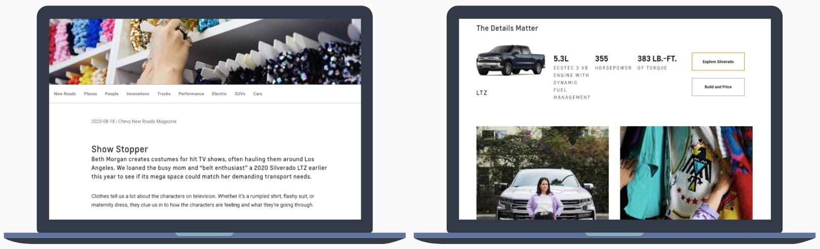 Chevrolet's Blog Content