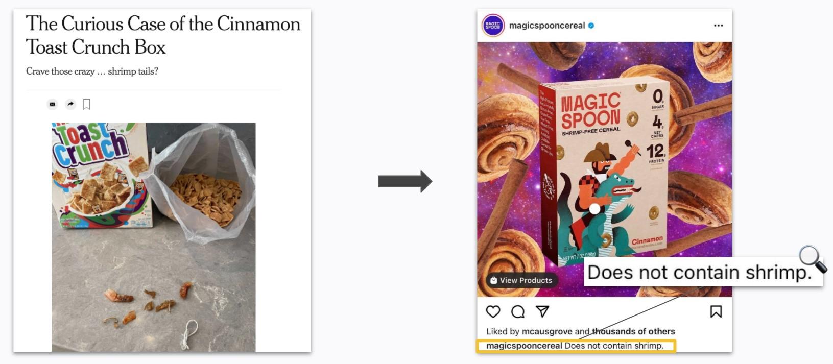 Magic Spoon - Organic Social Content