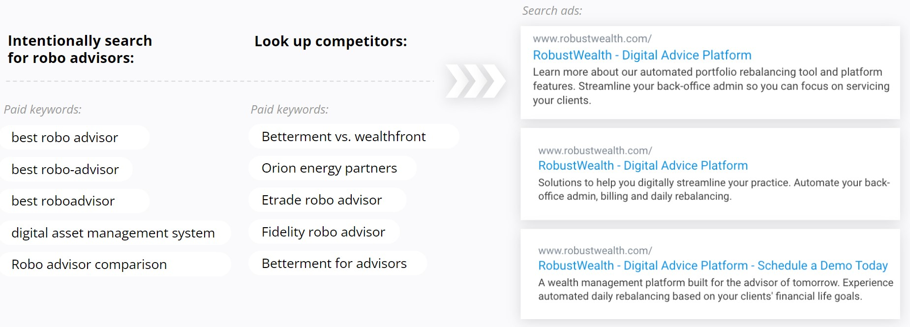 RobustWealth - Text Ad Variants