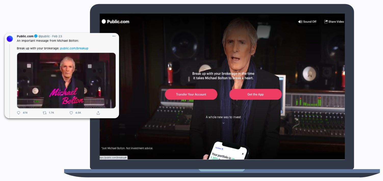 Public.com - Michael Bolton - Break up with your brokerage
