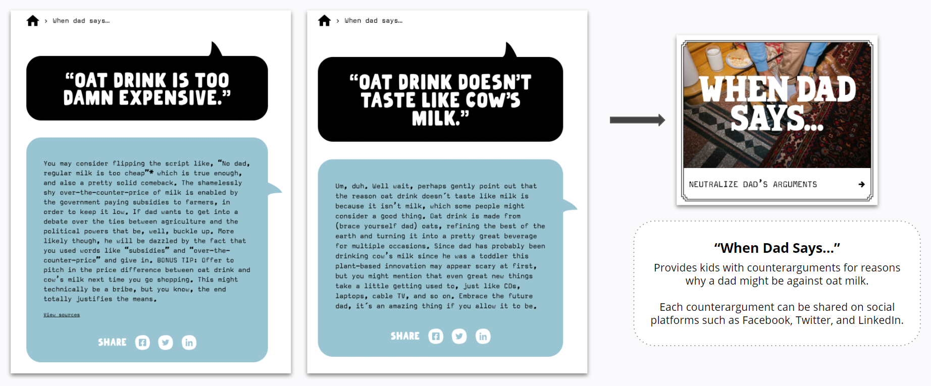 Oatly - When Dad Says...