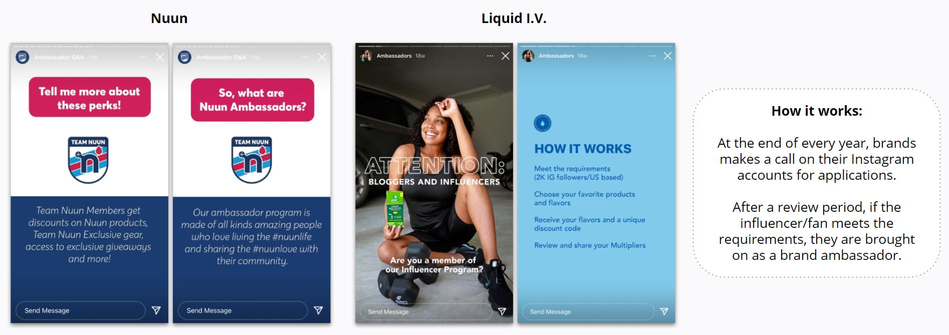 Nuun and Liquid I.V. - Ambassador Programs