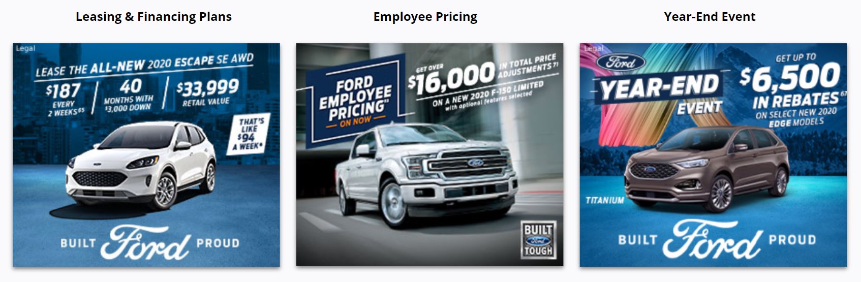 Ford - Top 3 Display Advertising Campaigns