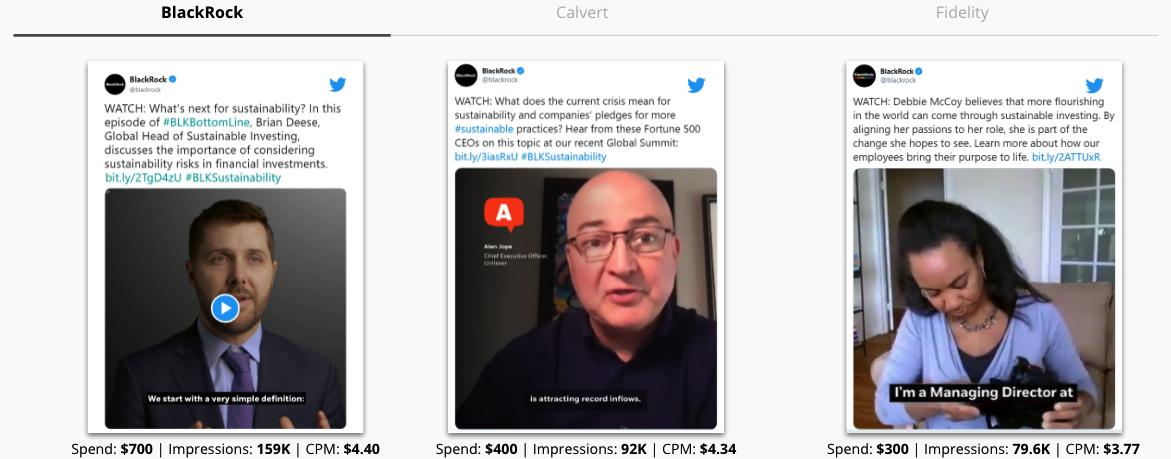 Blackrock Twitter Ads