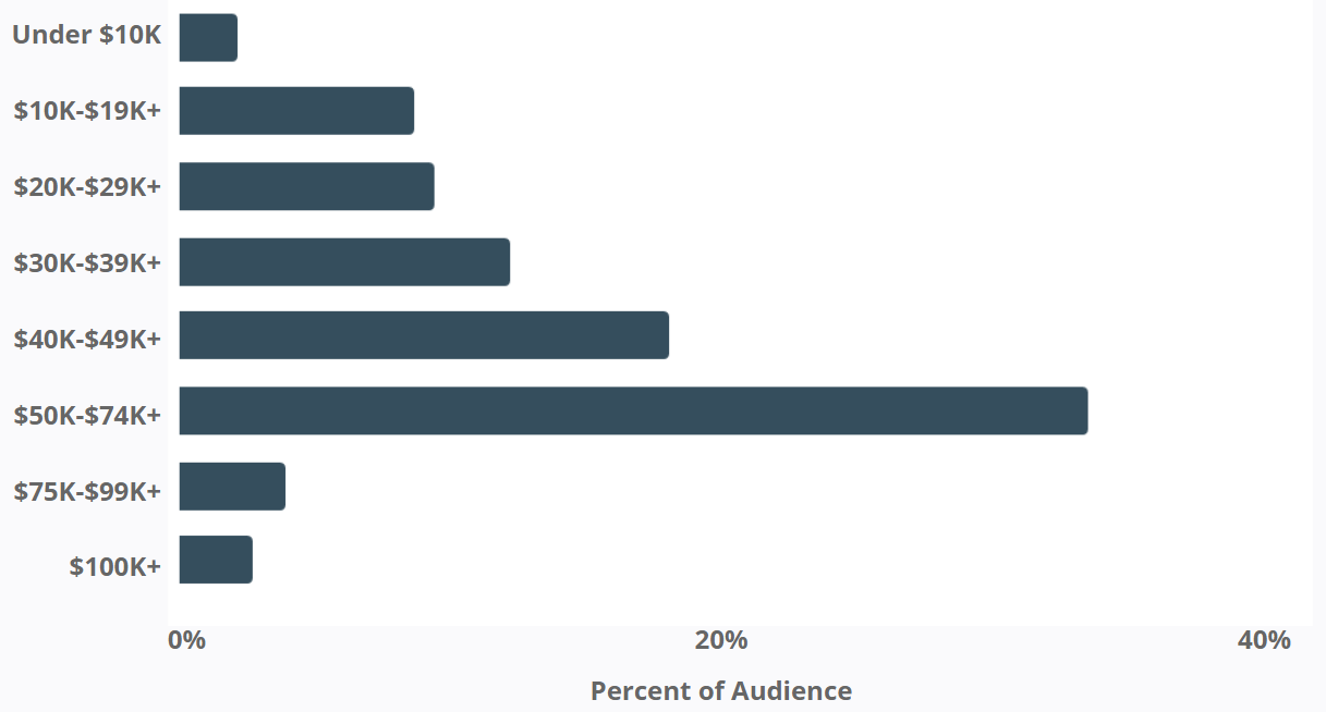 Little Baby Bum - Instagram Audience - Average Income