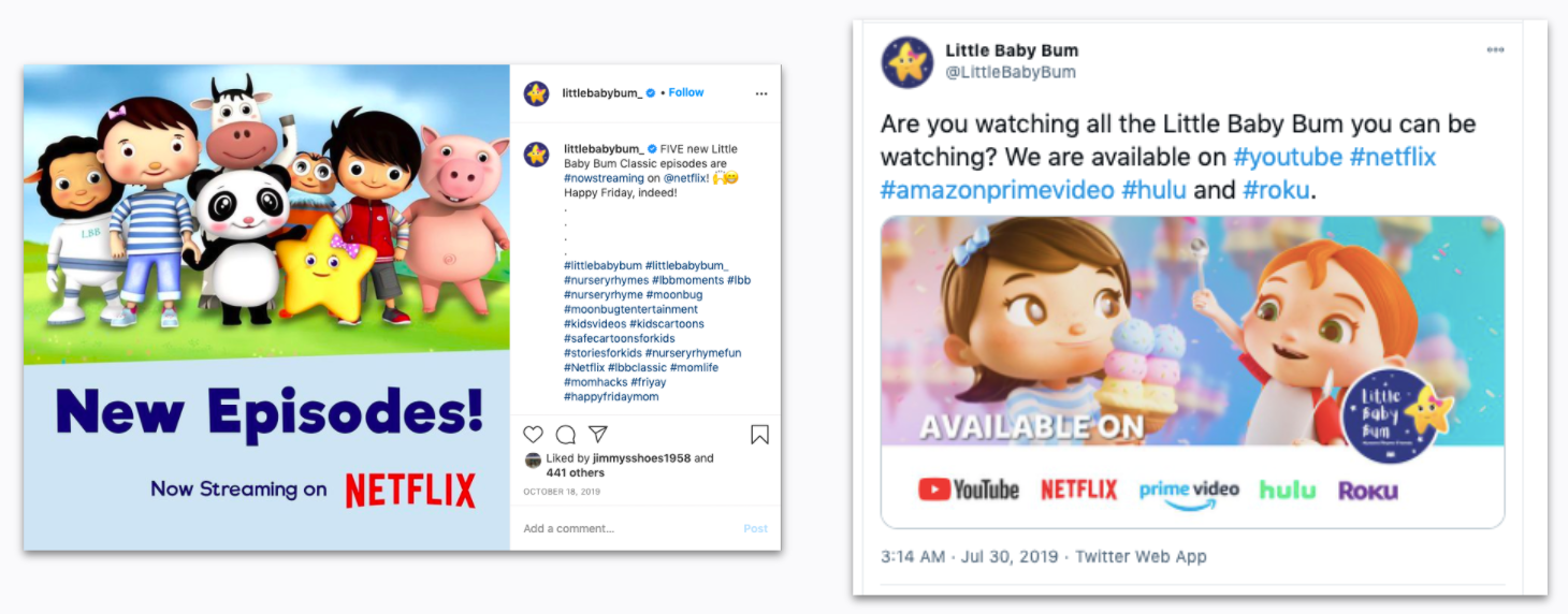 Little Baby Bum - Streaming Networks - Netflix and Hulu