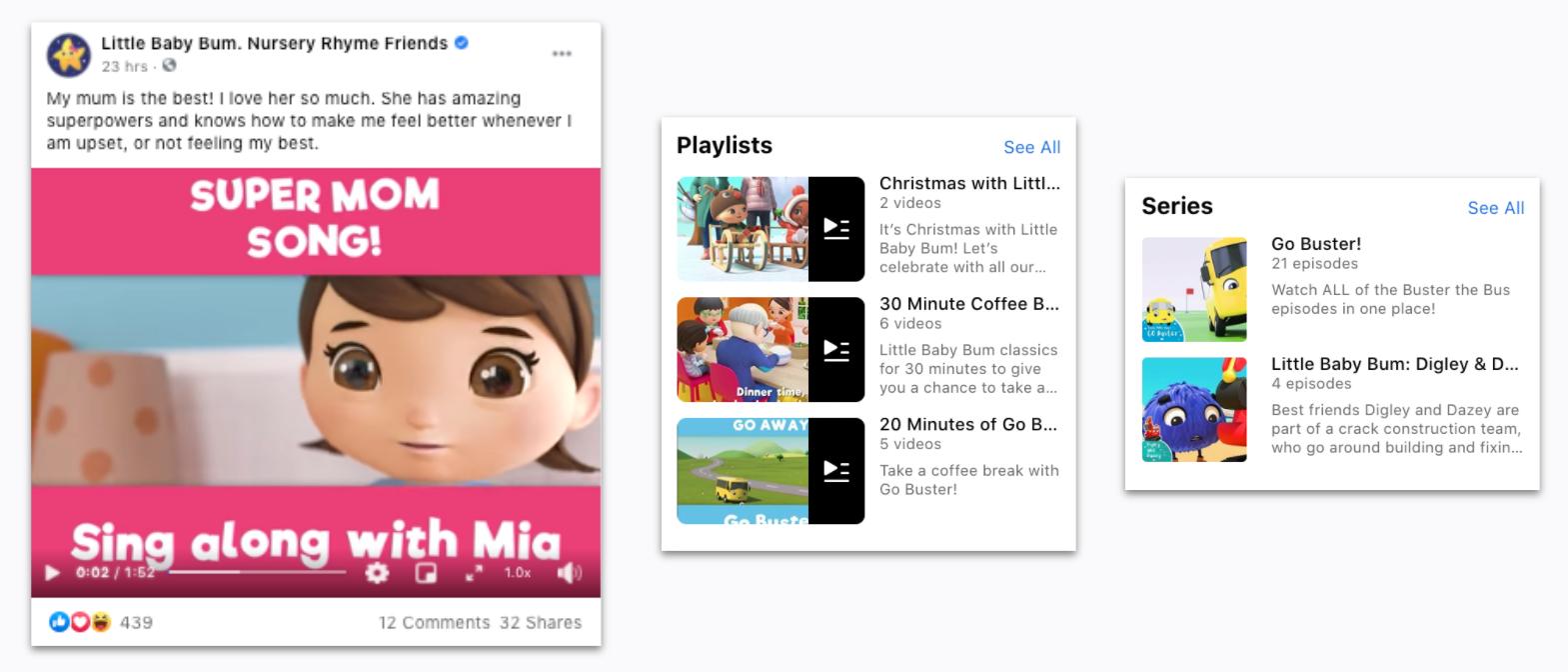 Little Baby Bum - Facebook Playlist