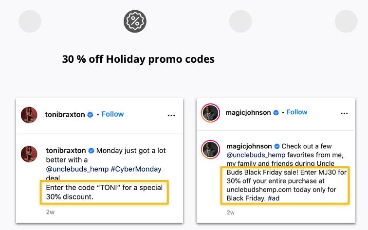 Holiday Promo Codes