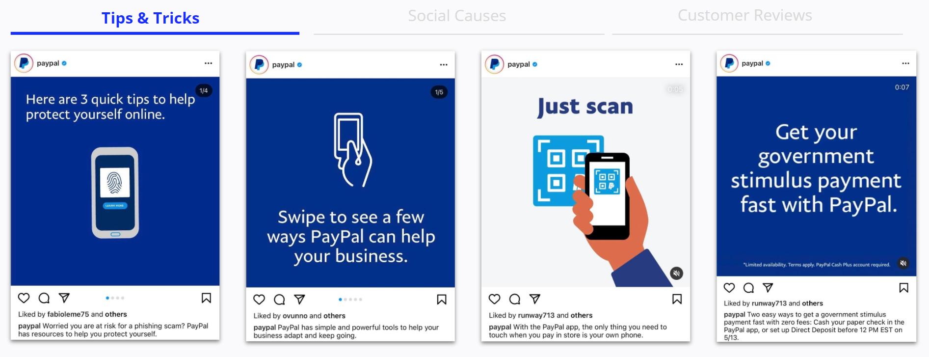 Paypal - Social Media Posts - Tips & Tricks