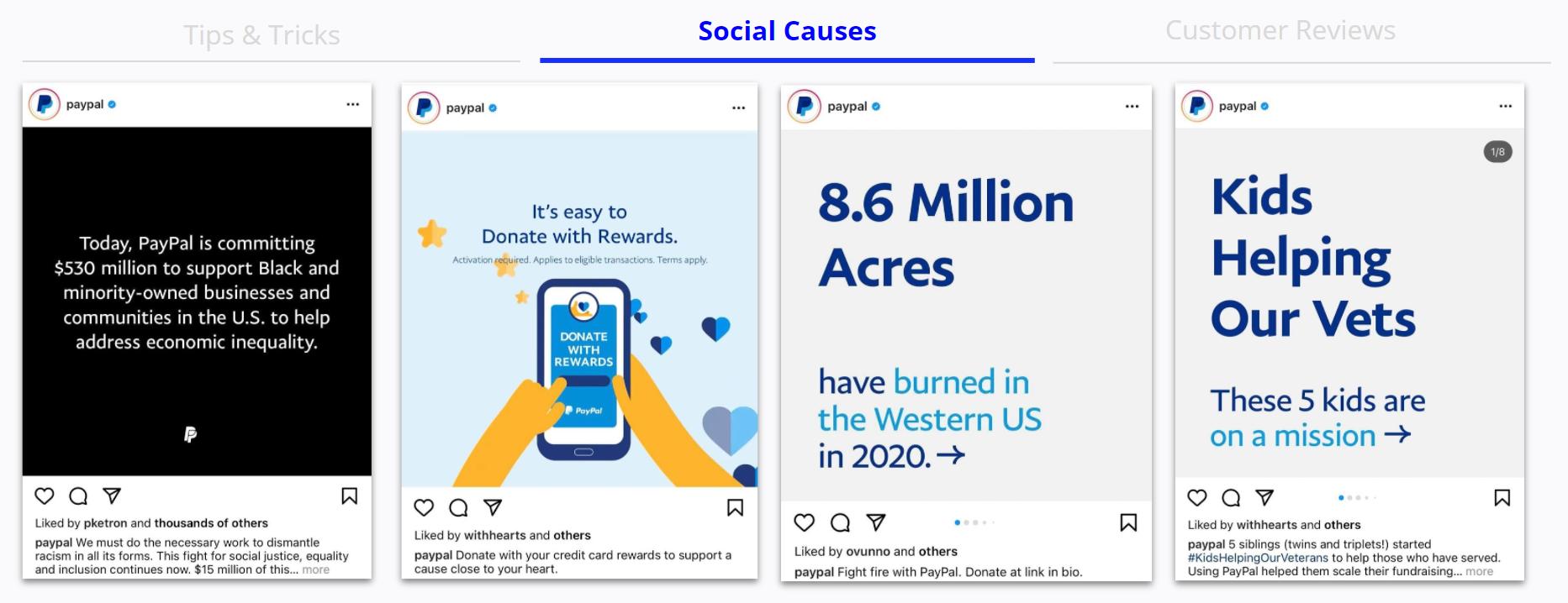 Paypal - Social Causes