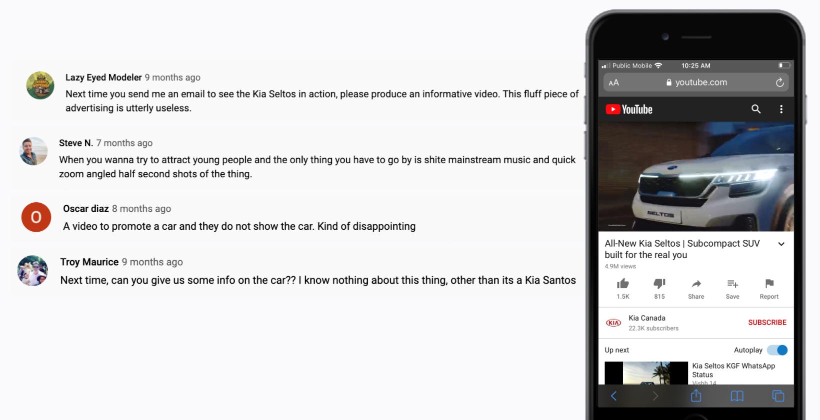 KIA - YouTube - Kia Seltos - Specific Features