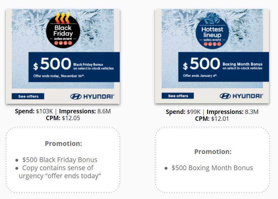 Hyundai - Desktop Display  - Black Friday Deal