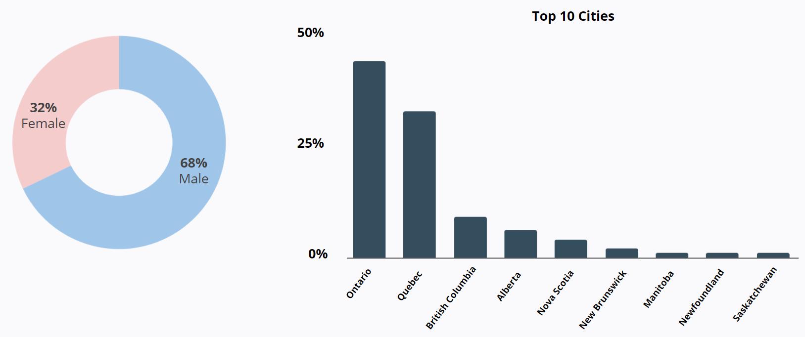 Hyundai - Facebook - Top 10 Cities - Demographics