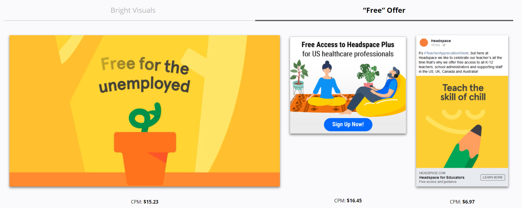 Headspace - Free Offer Ads